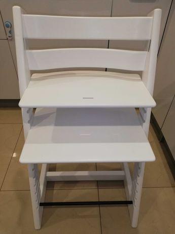 Krzesło Białe Tripp Trapp Stokke