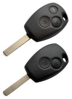Renault CLIO 3 Kodowanie Dorabianie klucz Kluczyk