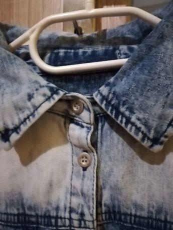 Koszula jeans miękka
