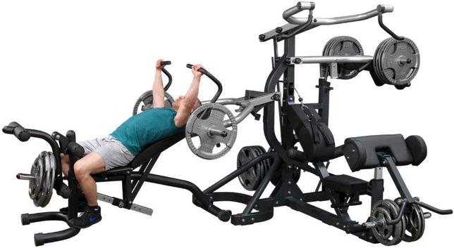 Body Solid atlas do ćwiczeń 3 stanowiska