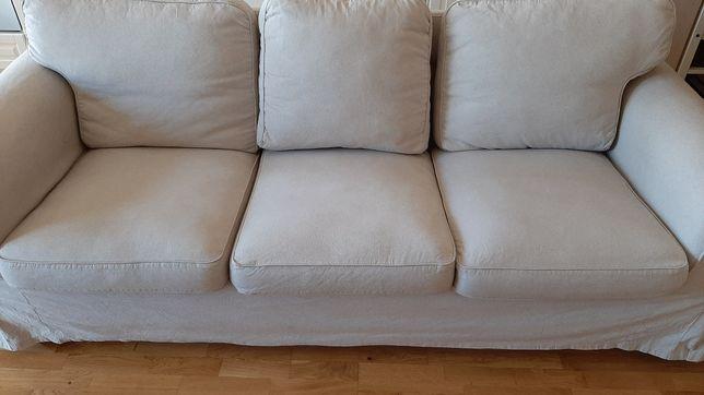 Sofa kanapa Ektorp 3 osobowa nierozkładana IKEA