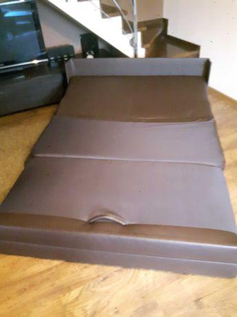 sofa kanapa z ekoskóry rozkładana  łóżko wersalka tapczan kanapa