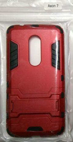 ZTE Axon 7 etui Armor case z podstawką Czerwone