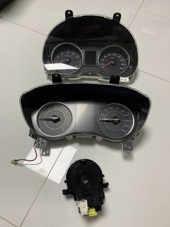 Табло Панель приборов спидометр лента подрулевая Subaru Impreza