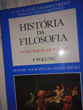 Historia da Filosofia  vol. 1 pre Socraticos a Idade Media