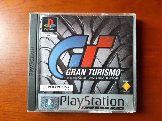 Gran Turismo the real driving simulator playstation