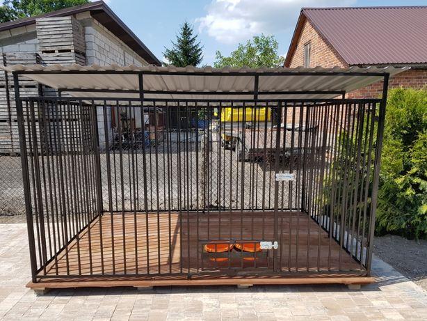 Kojec Klatka Zagroda Buda dla psa 4mx2m Montaż Gratis Solidny
