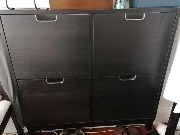 Sapateira IKEA em preto