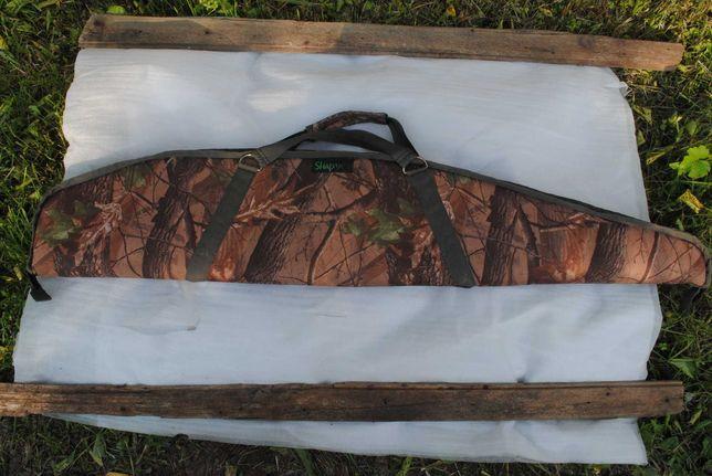 Чехол охотничий под ружьё, винтовку, карабин 130 см дубок камуфляж