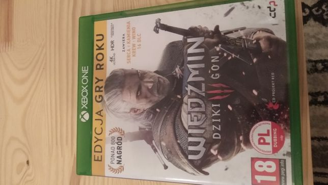 Wiedzmin 3 Xbox One GOTY
