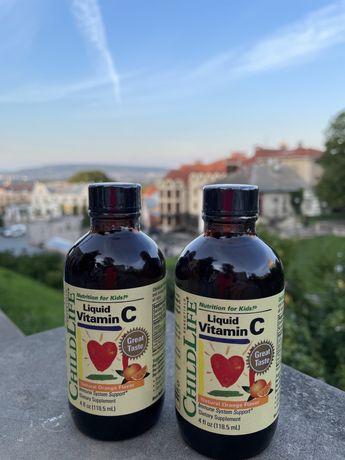 БЕСТССЕЛЕР!!!ChildLife, Essentials, витамин C в жидкой форме, 118,5 мл