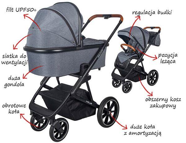 Muuvo Slick wózek 2w1 + adaptery i wysyłka GRATIS
