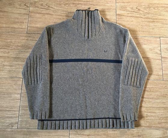 Мужской премиум свитер из 100% шерсти молодого ягненка фирмы Crew