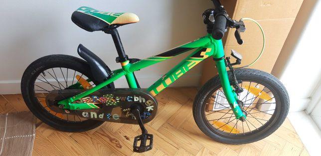 Bicicleta criança Cube roda 16