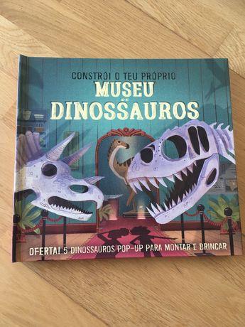 Livro Constroi o teu proprio museu de dinossauros