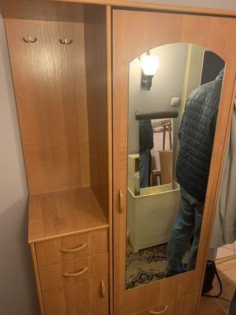 Szafa - garderoba do przedpokoju z lustrem
