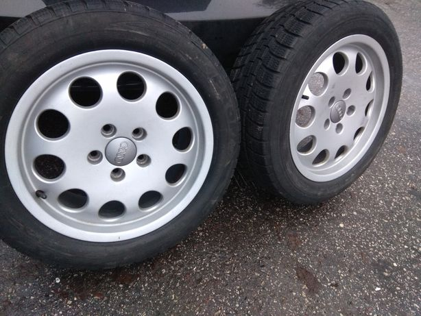 Opony zimowe 16 cali z felgami Audi