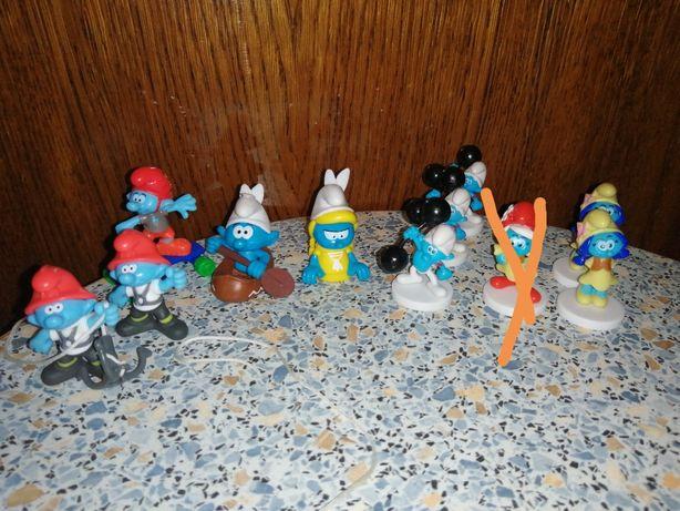Smerfy Kinder niespodzianka Riviva Polaris Kids Miami Biedronka