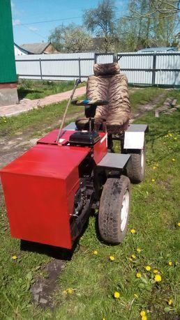 Саморобний трактор, переломка 4*4