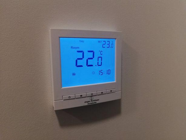 Regulator tygodniowy pokojowy temperatury LCD ogrzewanie podłogowe