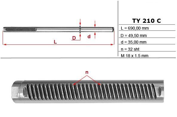 Listwy zębate przekładni kierowniczych Toyota 4Runner, Toyota Land Cru Sandomierz - image 1