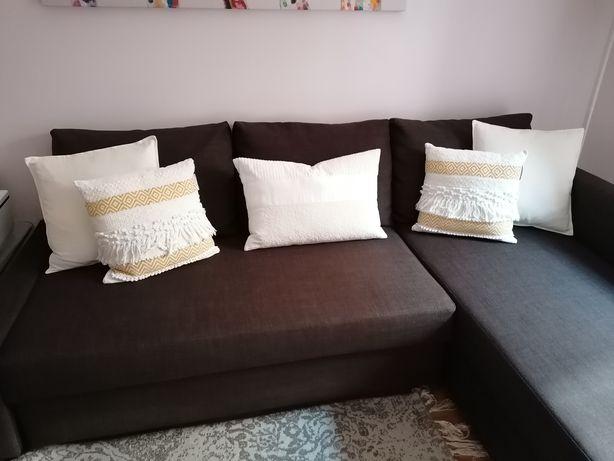 Sofá cama IKEA Kivik com chaise longue