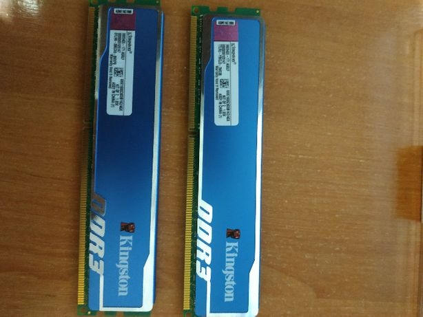 Память Kingston HyperX BLU. DDR3-1600 4Gb (KHX1600C9D3B1K2/8GX