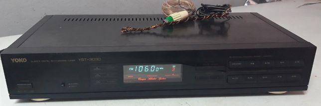 Yoko YST 3030 Sintonizador/Rádio Made in Japan 1990