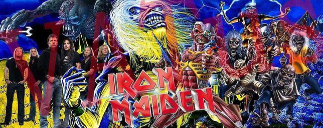 Чашка с фото Iron Maiden, AC/DC