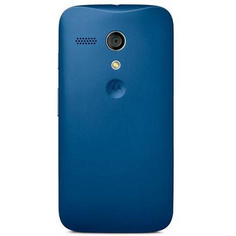 Obudowa Klapka Motorola Shell dla Moto G niebieska