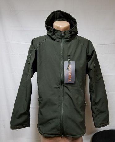 Куртка софтшел Олива ( для ВСУ и НГУлипучки под шеврон и погоны.))