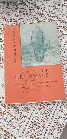 Henryk Grunwald życie i twórczość książka Orno Juwelia spółdzielnie