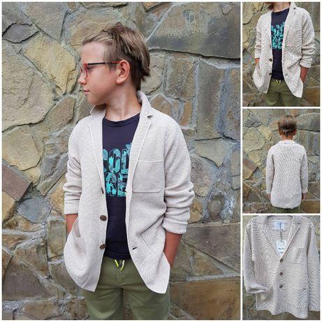 Очень крутой трикотажный блейзер, пиджак от Zara. Новый