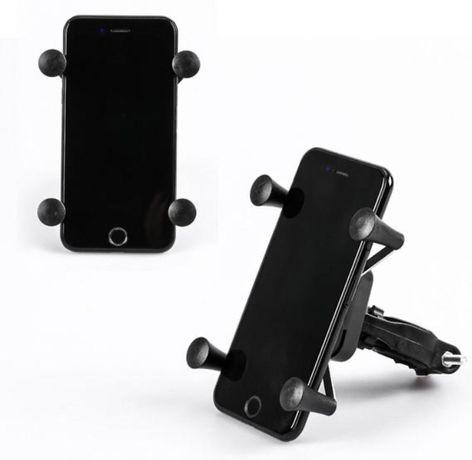 Suporte telemóvel Universal Moto Mota Bicicleta Bike Trotinete Scooter