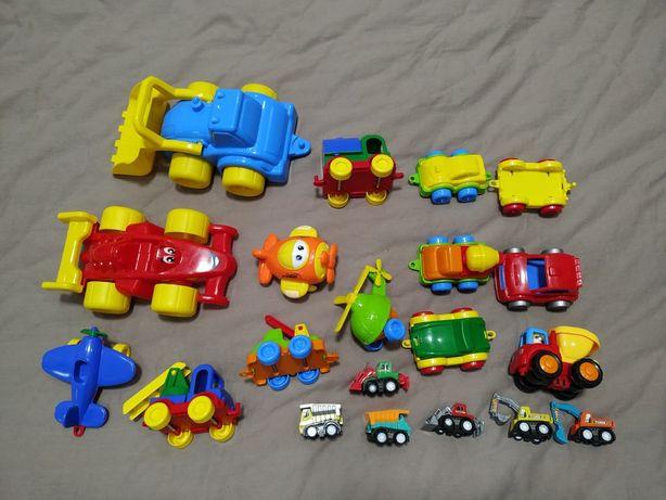 Машинки 20 шт, 7 инерционных