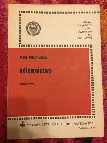 ODLEWNICTWO KOWALSKI MUCHA 1970 Tanie ksiązki techniczne