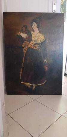 Obraz Olejny GOYA Dziewczyna z dzbanem Nosicielka Wody Reprodukcja