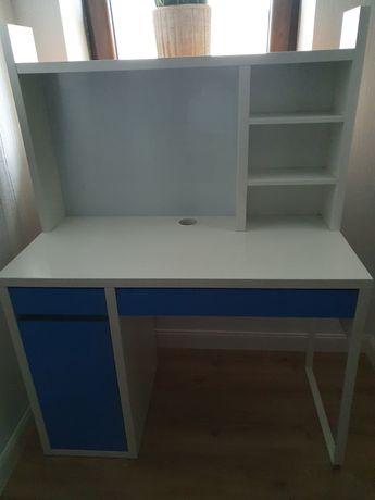 Biurko z nadstawką Ikea