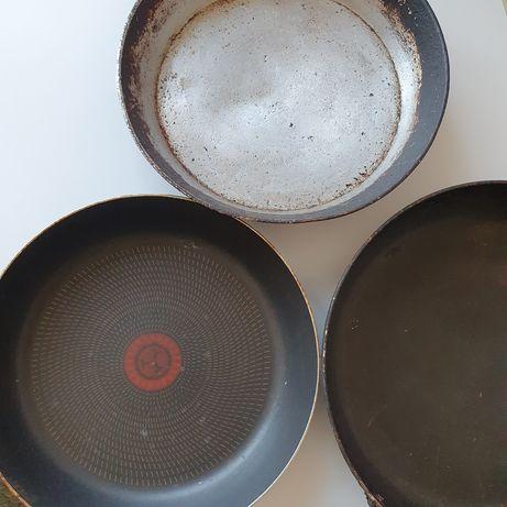 Сковородки, цена за все.25-35см диаметр