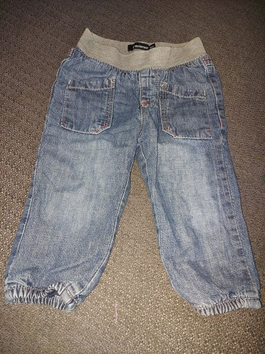 Spodnie jeansowe rozmiar 74 Pierkowskie - image 1