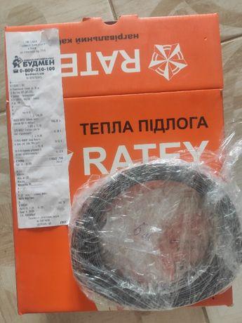 Продам кабель для теплого пола Ratey + лента на 5 м.кв.