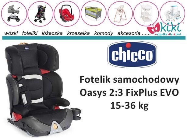 Fotelik samochodowy Chicco Oasys 2:3 FixPlus EVO 15-36 kg