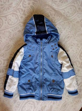 Куртка демисезонная деми осенняя для мальчика 3-4 лет