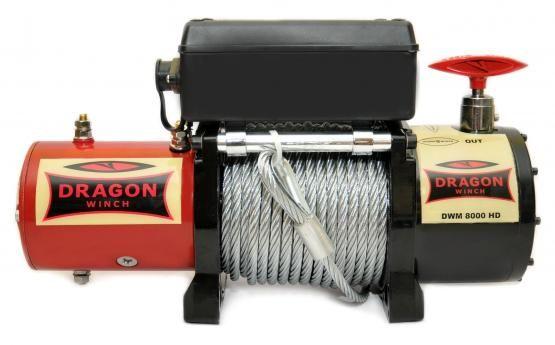Wyciągarka Wciągarka elektryczna 12V DWM 8000 HD Pomoc Drogowa laweta