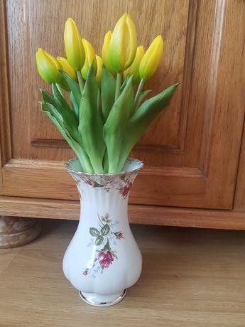 Wazon chodzież wazonik tulipany róże różyczka ikea home porcelanowy