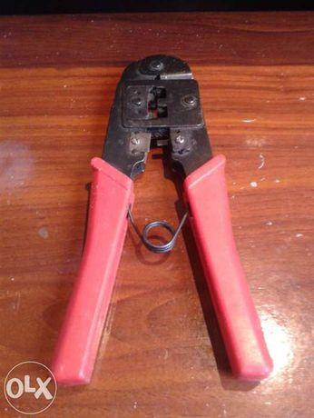 Alicate cravar fichas de rede