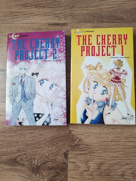 The Cherry project 1-2 niemieckie N Takeuchi sailor moon