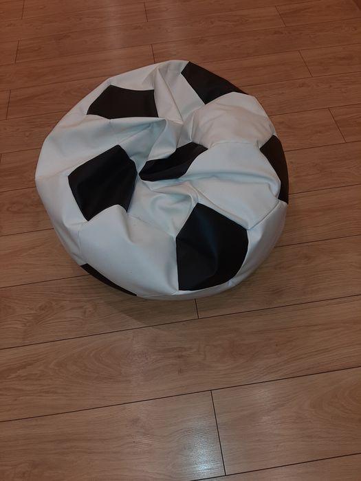 Pufa Piłka biało czarna Gołkowice - image 1