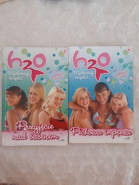 Zestaw 2 książek H2O wystarczy kropla - część 2 i 4