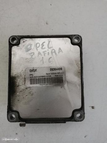 centralina motor opel zafira 09364499